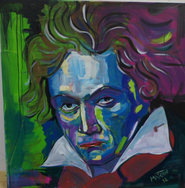 Ludwig van Beethoven by Lupo